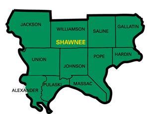 iasa regions and map shawnee