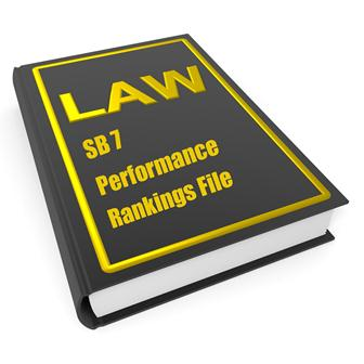 SB 7 Performance Rankings File